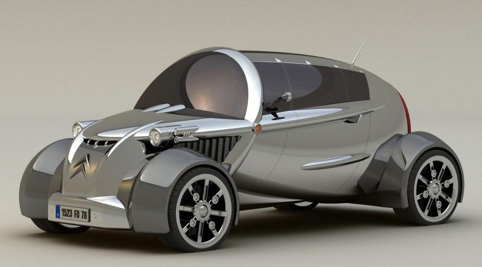 designer david portela reinterprets the citroen 2cv
