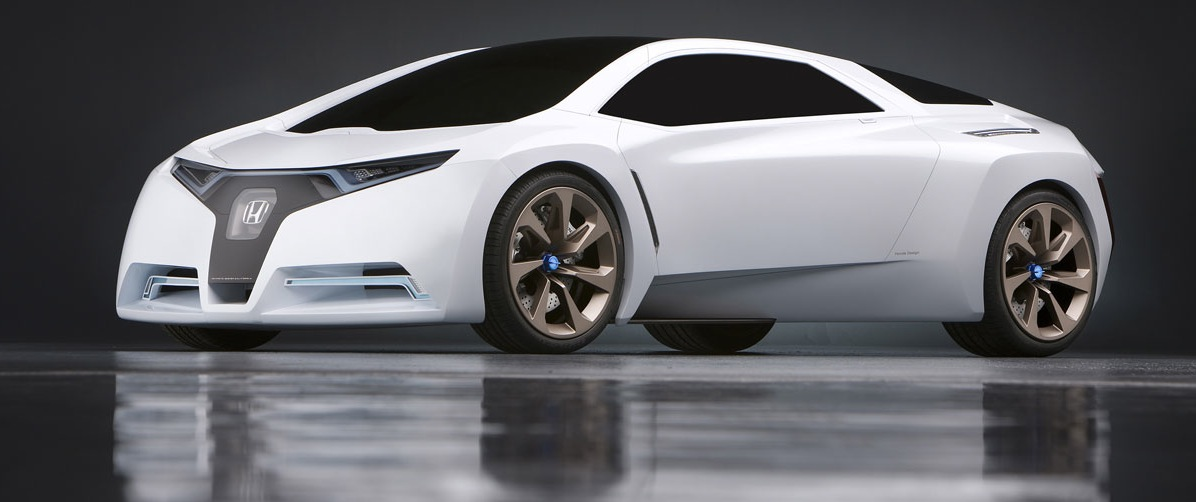 Beautiful Marking The Beginning Of Auto Show Season, Honda Took The Opportunity To  Unveil The Zero Emission FC Sport Concept At The 2008 Los Angeles Auto Show.
