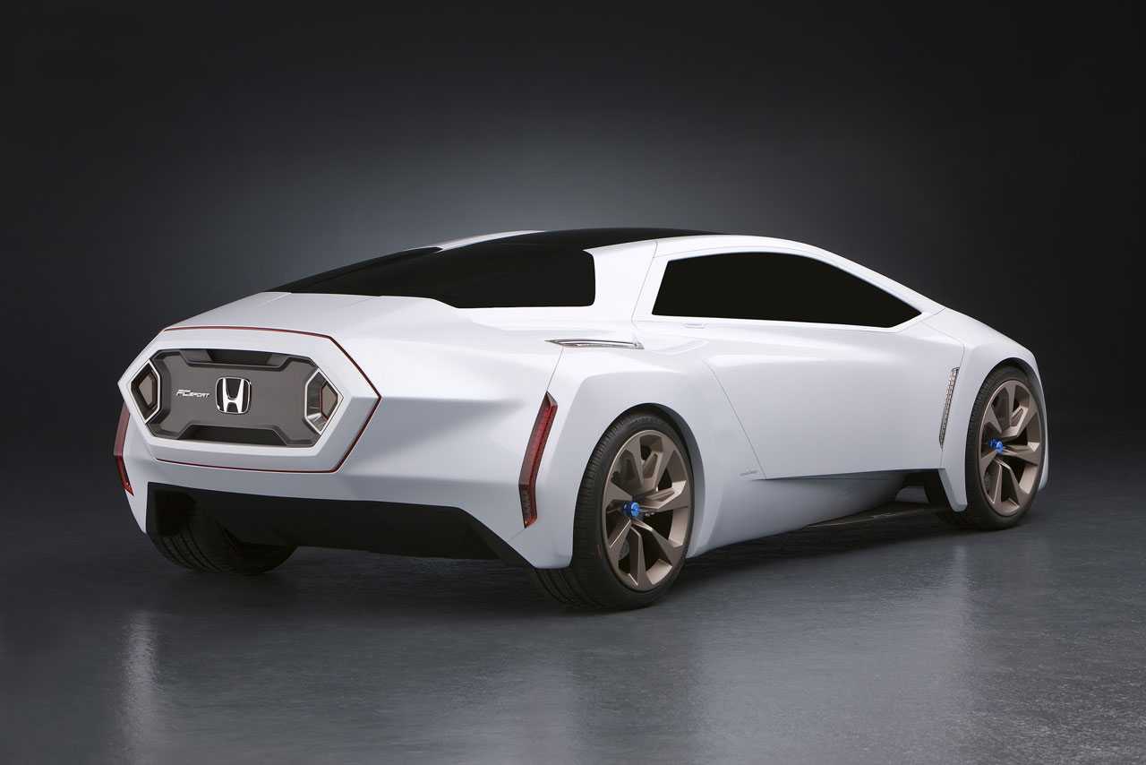 Hondau0027s New Sports Car Concept Powered By Hydrogen