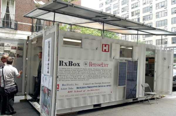 From Shipping Container To Healthcare Clinic