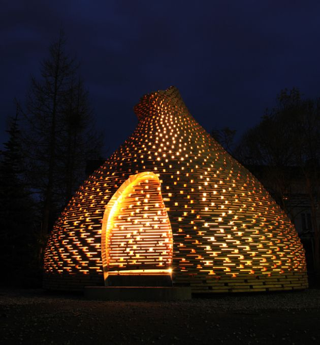 (Pics) A Storytelling Space: Outdoor Fireplace By Haugen/Zohar