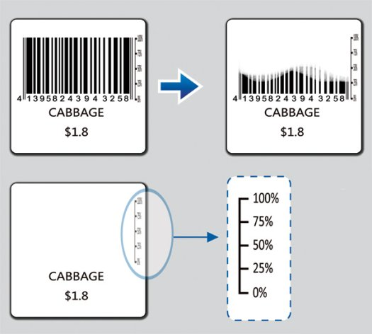 Fresh Code-An Intelligent Barcode That Recedes With A Vegetable's Freshness 2