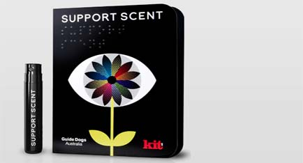 Scentvertising: Support The Vision Impaired By Smelling Good