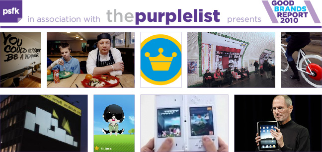 PSFK Good Brands Report