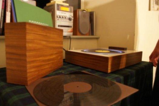 Music Player Plays Digital Music Like A Vinyl record 2