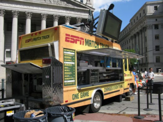 ESPN's Match Truck A Hit With New York and LA Residents 2