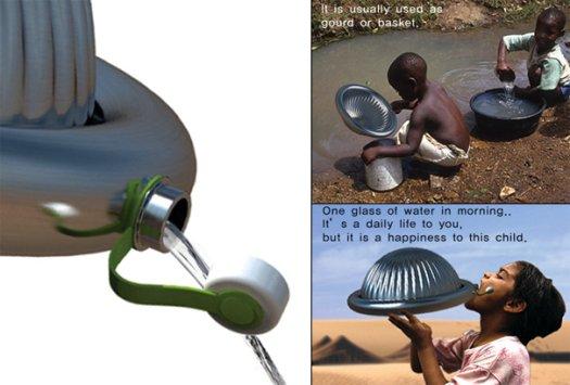 Desert Bug-Inspired Bottle Creates Clean, Drinking Water 2