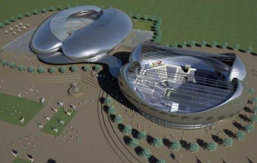 A Tennis Ball-Inspired Stadium 1