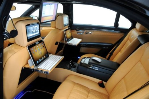 BRABUS iBusiness-A Mobile Office In A Merc 2