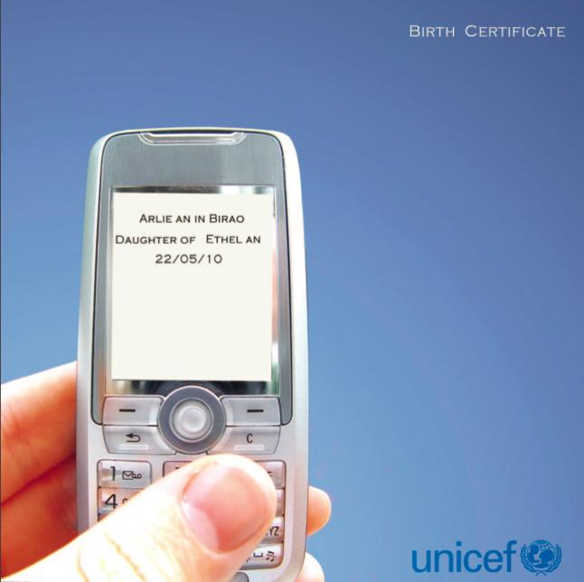 SMS Birth Registration