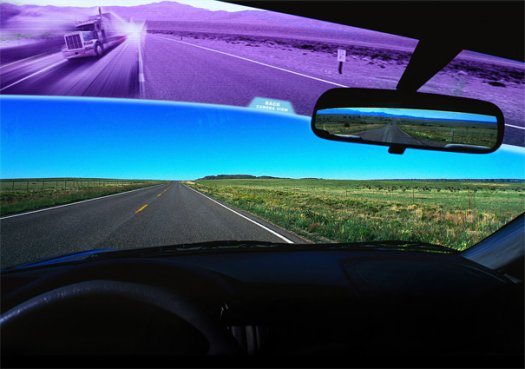 Windscreen Monitor Helps Avoid Blind Spots While Driving 2