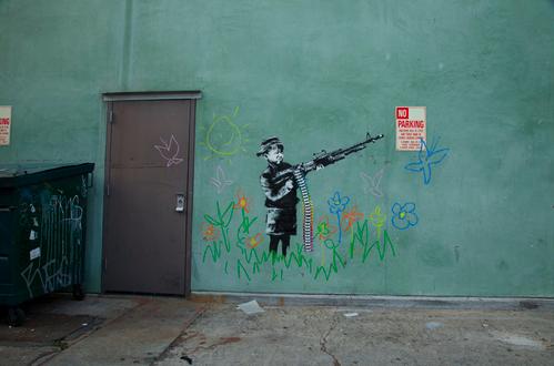 banksy-hollywood-LA-street art-graffiti-artist
