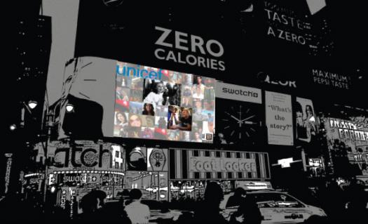 live with design-zero calories-app-unicef-microsoft tag