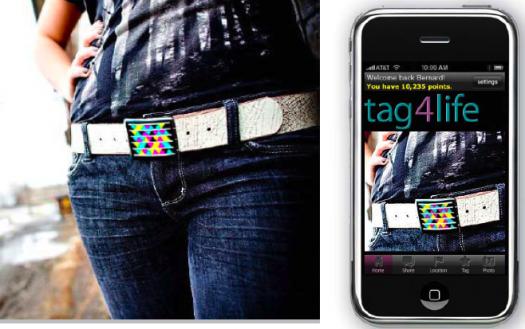 gigantic ny-tag4life-mobile tags-microsoft-unicef