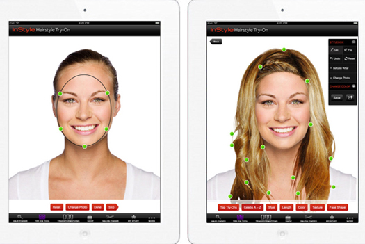 IPad App Lets Women Try Out Different Hairstyles