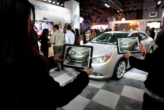 Buick's In-Store AR App Invites Consumers To Interact With & Buy Its New Model