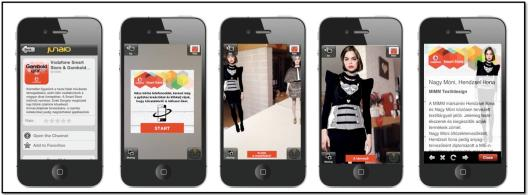 Vodafone's Augmented Reality Fashion Show [Video]