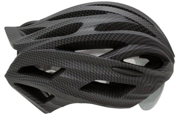 Bike Helmet Has Retractable Sunglasses Lens