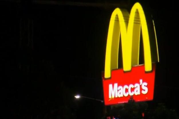 Maccas-signage