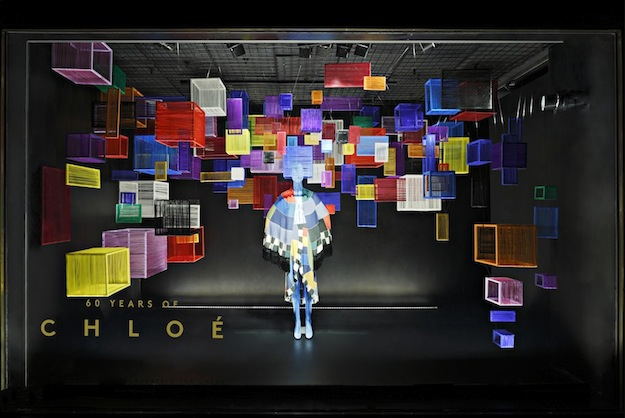 Barneys Window Displays Made Entirely Of Hair [Video] |