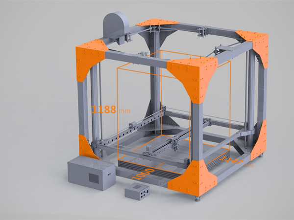 3D Printer Can Produce Full-Sized Furniture For The Living Room [Video] |
