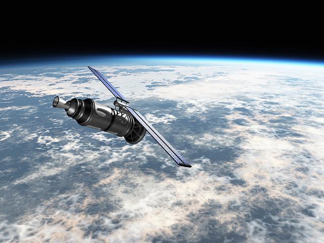 Satellite in earths atmosphere