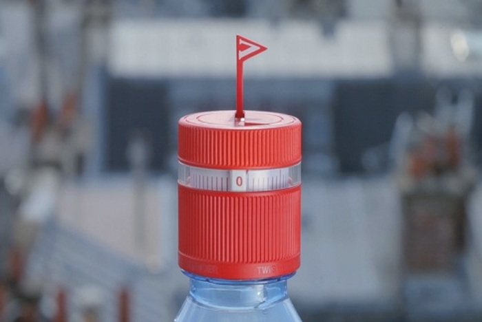 Water Bottle Cap Has A Reminder To Help People Stay Hydrated