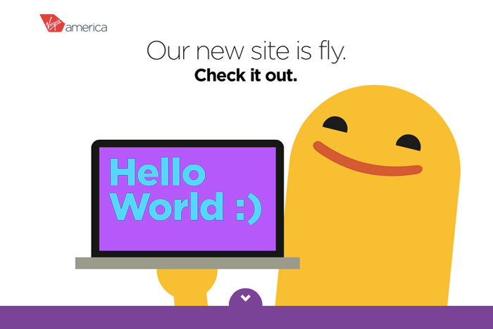 Virgin America's Newly Designed Website And Boarding Pass Eliminate Travel Stress |