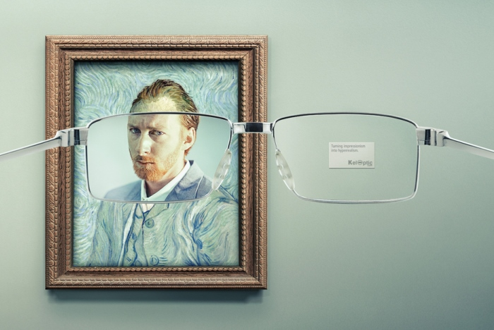 Glasses Ads Turn Impressionist Masterpieces Into Hyper Real Paintings |