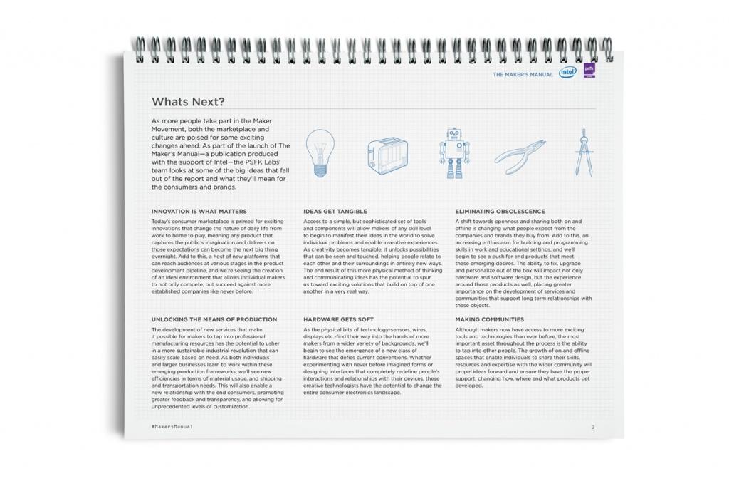 Maker's Manual
