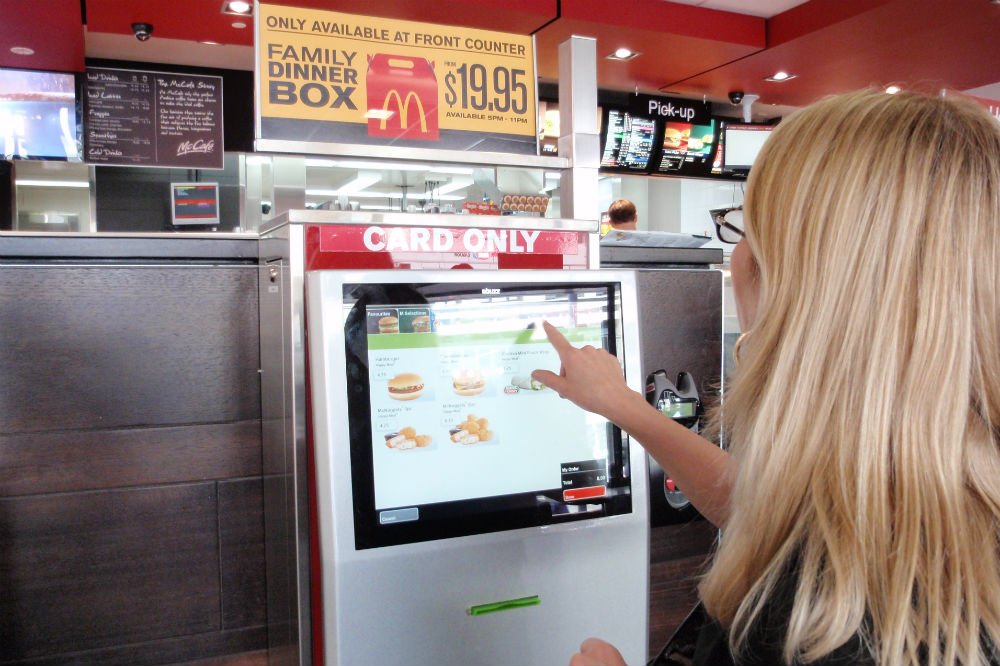 Mcdonald S Experiments With Build Your Own Burger Kiosk