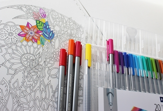Adult Coloring Books Capitalize On Play Trends