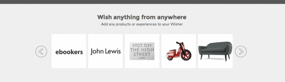 wisher shopping