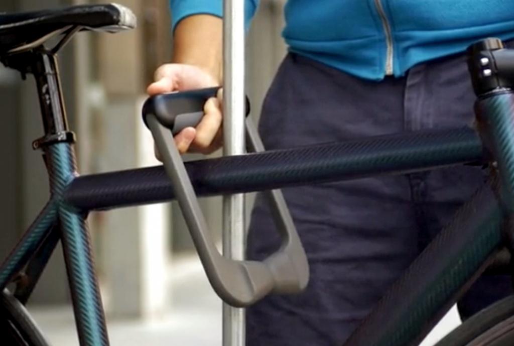 Fingerprint Bike Lock Powered by 20 Users