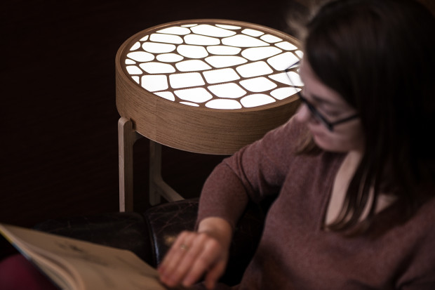 Table with Circadian Lighting Could Improve Your Sleep Cycle