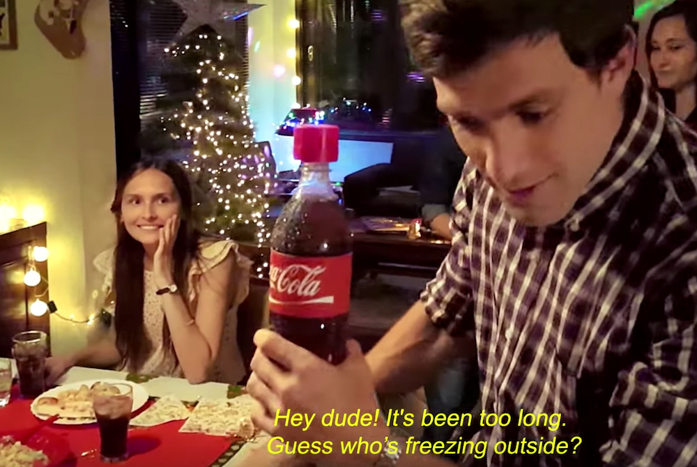 Coca-Cola Lets People Record Messages With A Bottle Cap