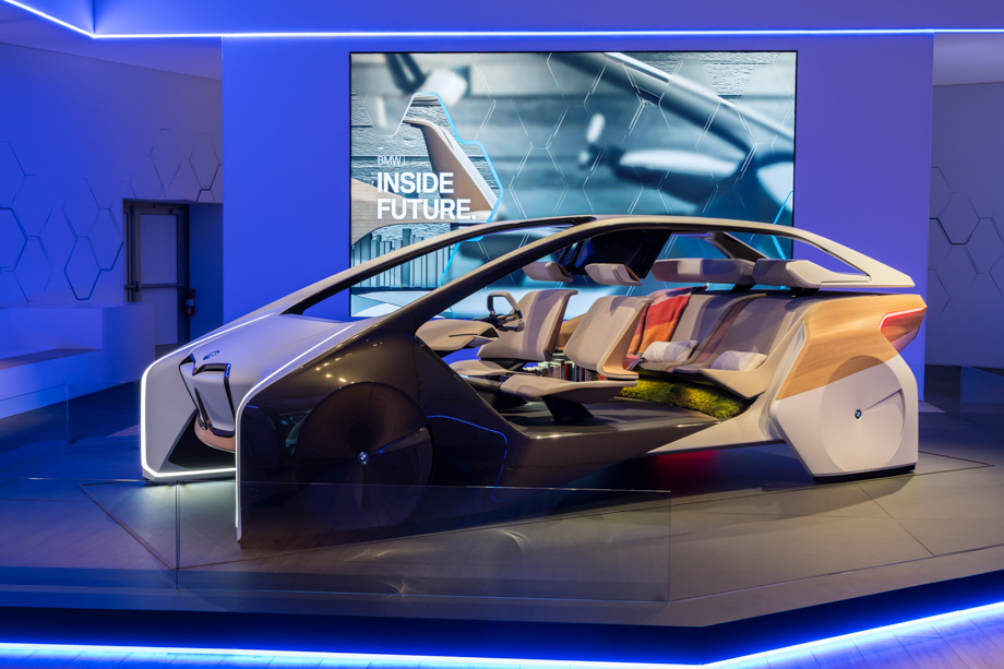 BMW Is Reimagining Car Interiors As A New Kind Of Living Space