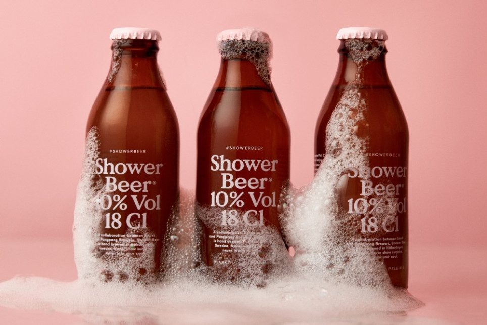 Beer Bottle Designed To Be Enjoyed In The Shower