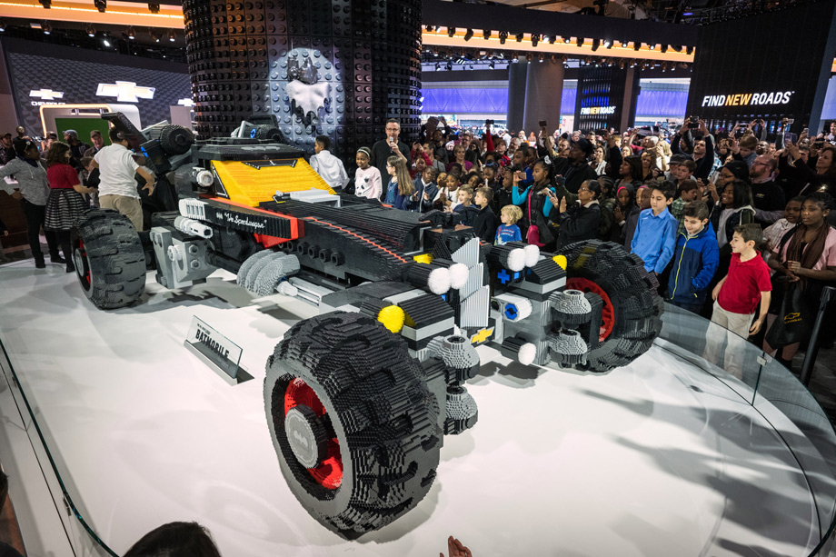 Lego And Chevy Unveiled A Life-Sized Batmobile
