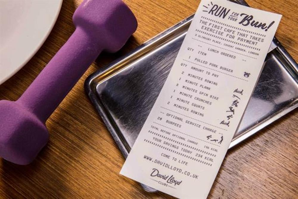 Fitness Cafe Lets Customers Pay With A Workout