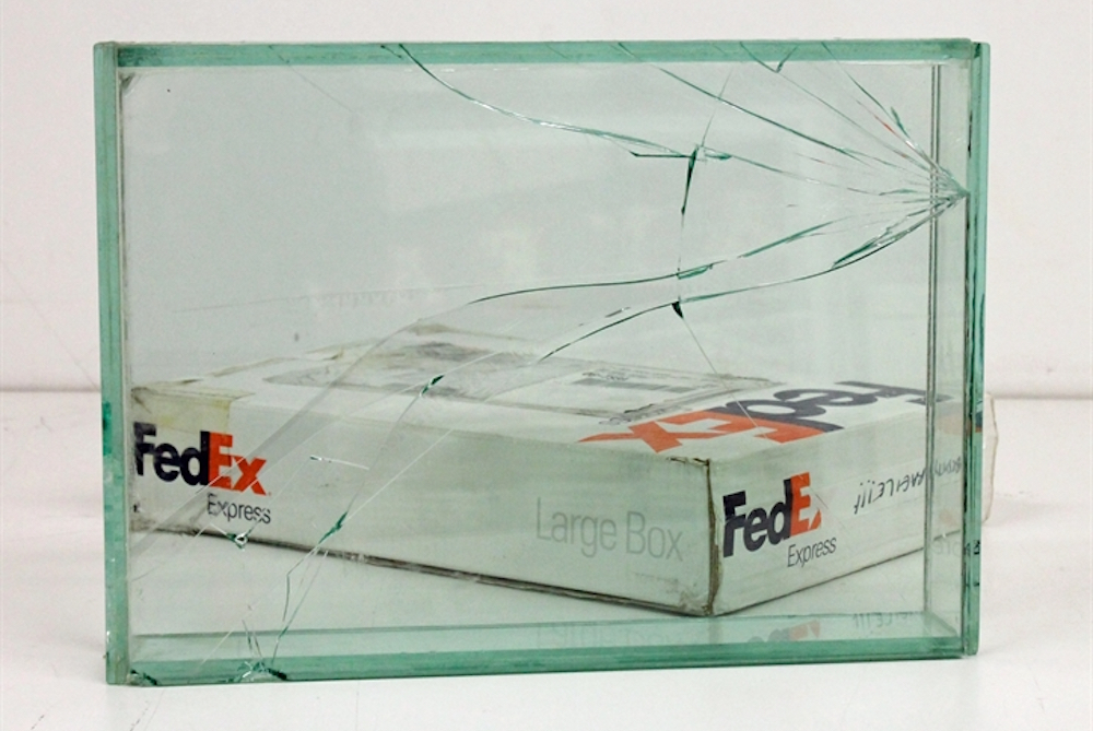 Artist Creates One-Of-A-Kind Sculptures Using FedEx