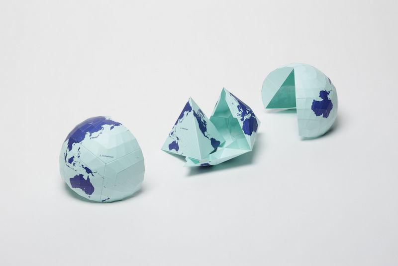 This World Map Won Japan's Largest Design Award