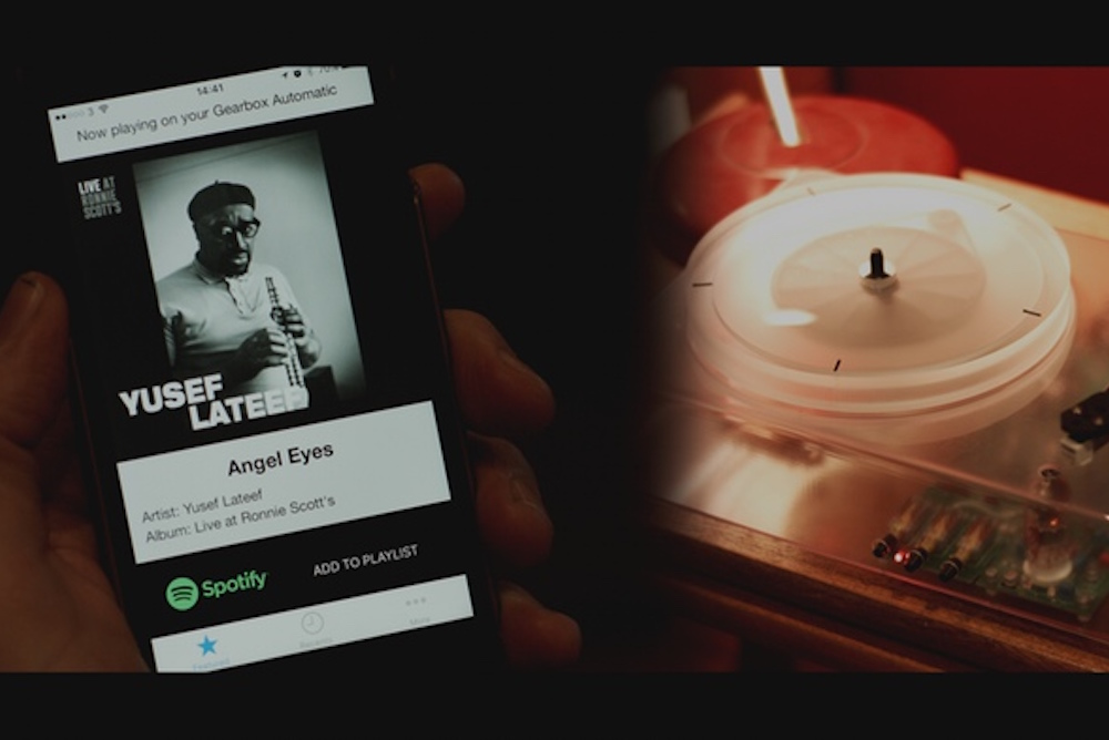 Hybrid Turntable Make A Spotify Playlist From Your Vinyl Collection