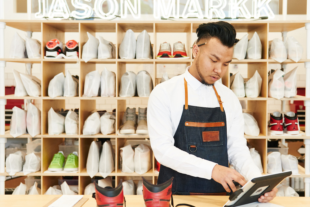 Los Angeles Is Now Home To World's First Sneaker Dry Cleaning Service