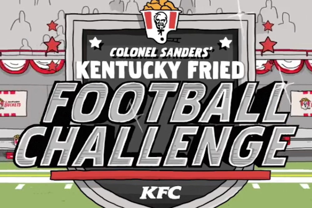 KFC Is Bringing Gaming To Instagram With A Football Challenge