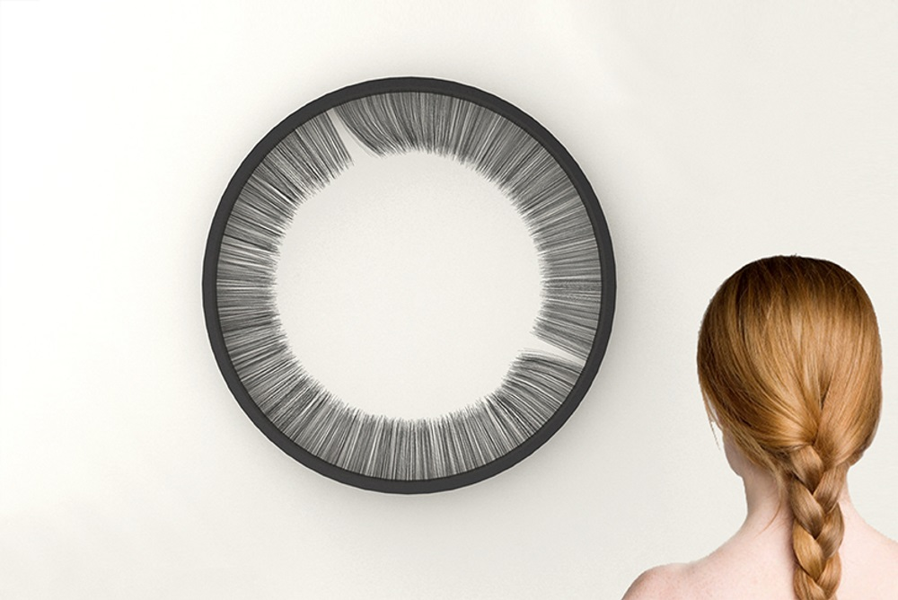 Lash Clock Meditatively Marks The Passing Of Time