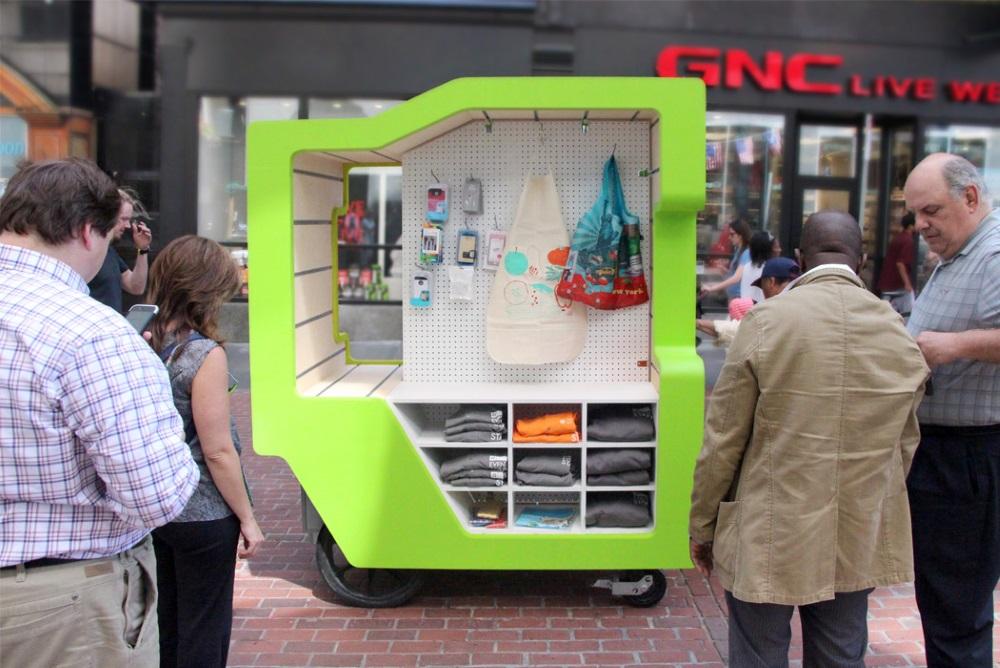 Street Vendor Cart Redesigned As A Modular Store