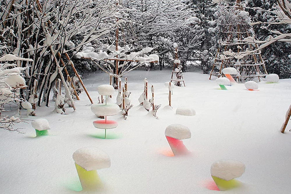 Japanese Artist Turns Snowfall Into A Unique Wonderland
