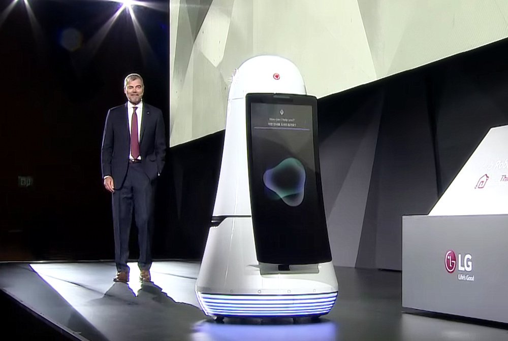 LG's New Robot Will Be Your Personal Airport Guide