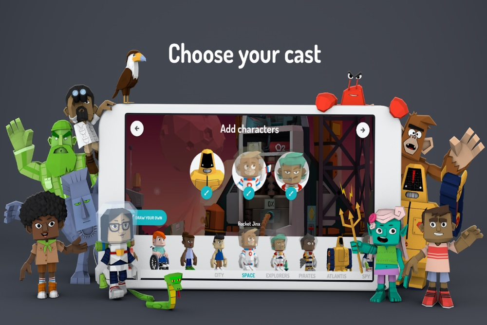 Storytelling Application Lets Children Create 3D Puppet Shows